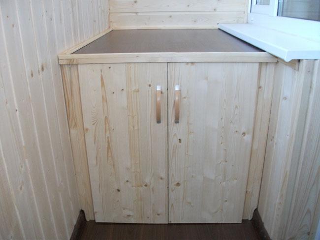 Смастерить шкаф на лоджии из фанеры..